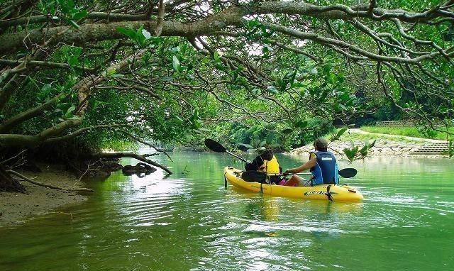 ▲沖繩比謝川獨木舟體驗。(圖/Tripbaa趣吧!亞洲自由行專家)