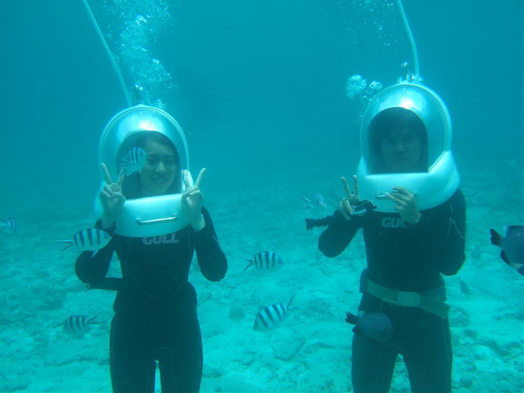 ▲沖繩海底漫步。(圖/Tripbaa趣吧!亞洲自由行專家)