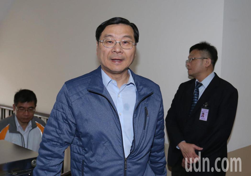 立法院長蘇嘉全上午召集朝野協商,國民黨立委曾銘宗出席。記者陳柏亨/攝影