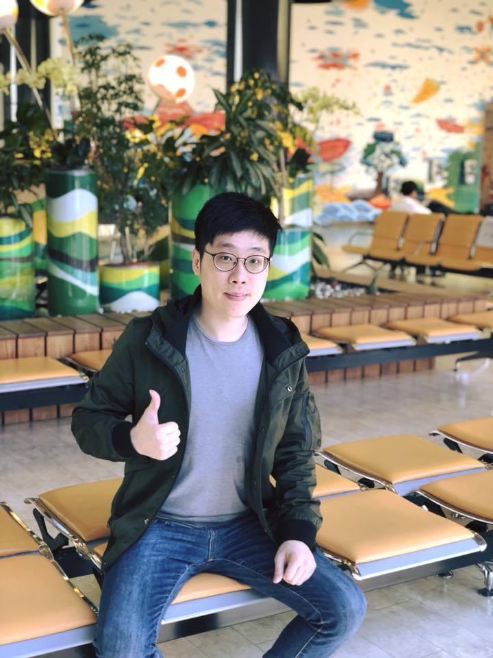 七年級的陳亞麟將代表時代力量參選枋寮鄉長。記者蔣繼平/翻攝