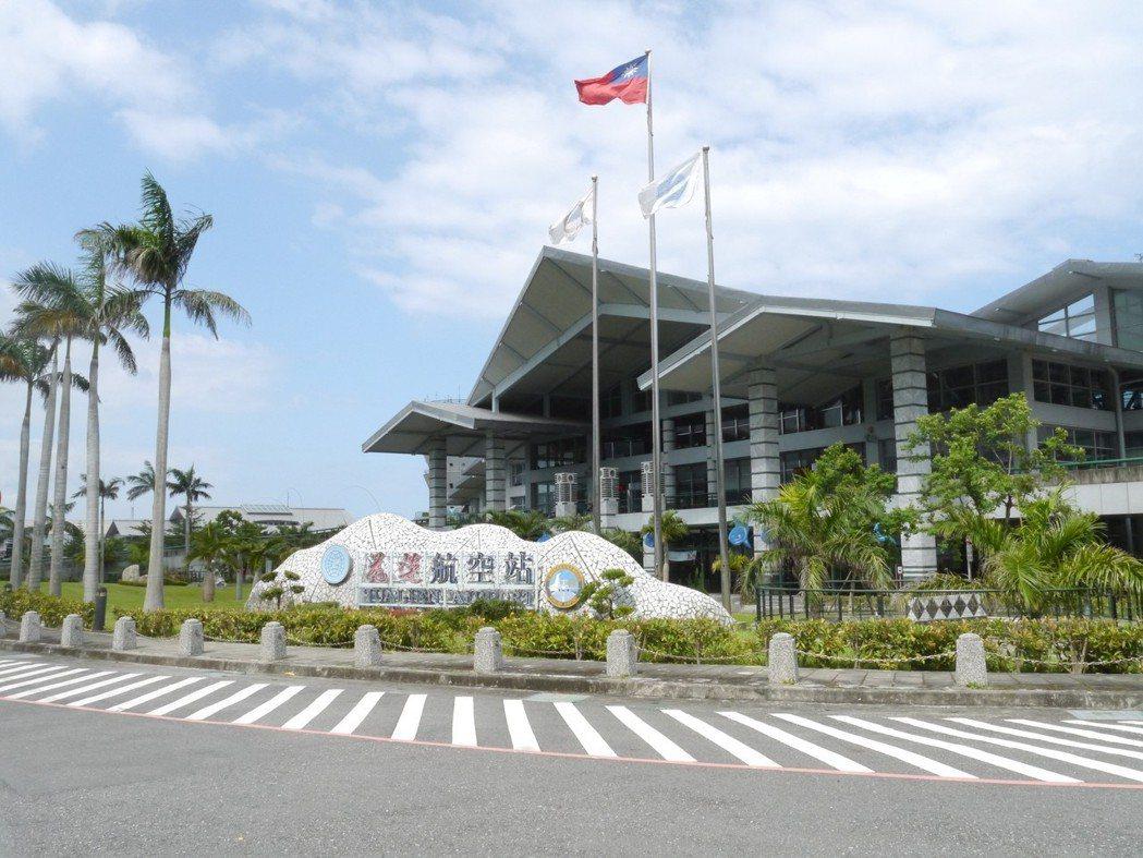 圖為花蓮航空站外觀。聯合報系資料照