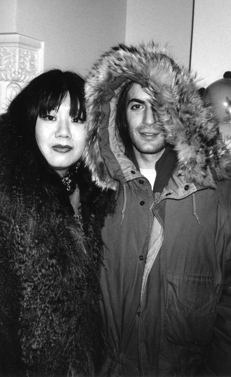 Anna Sui和Marc Jaocbs是帕森斯學院的同窗好友。圖/摘自pint...