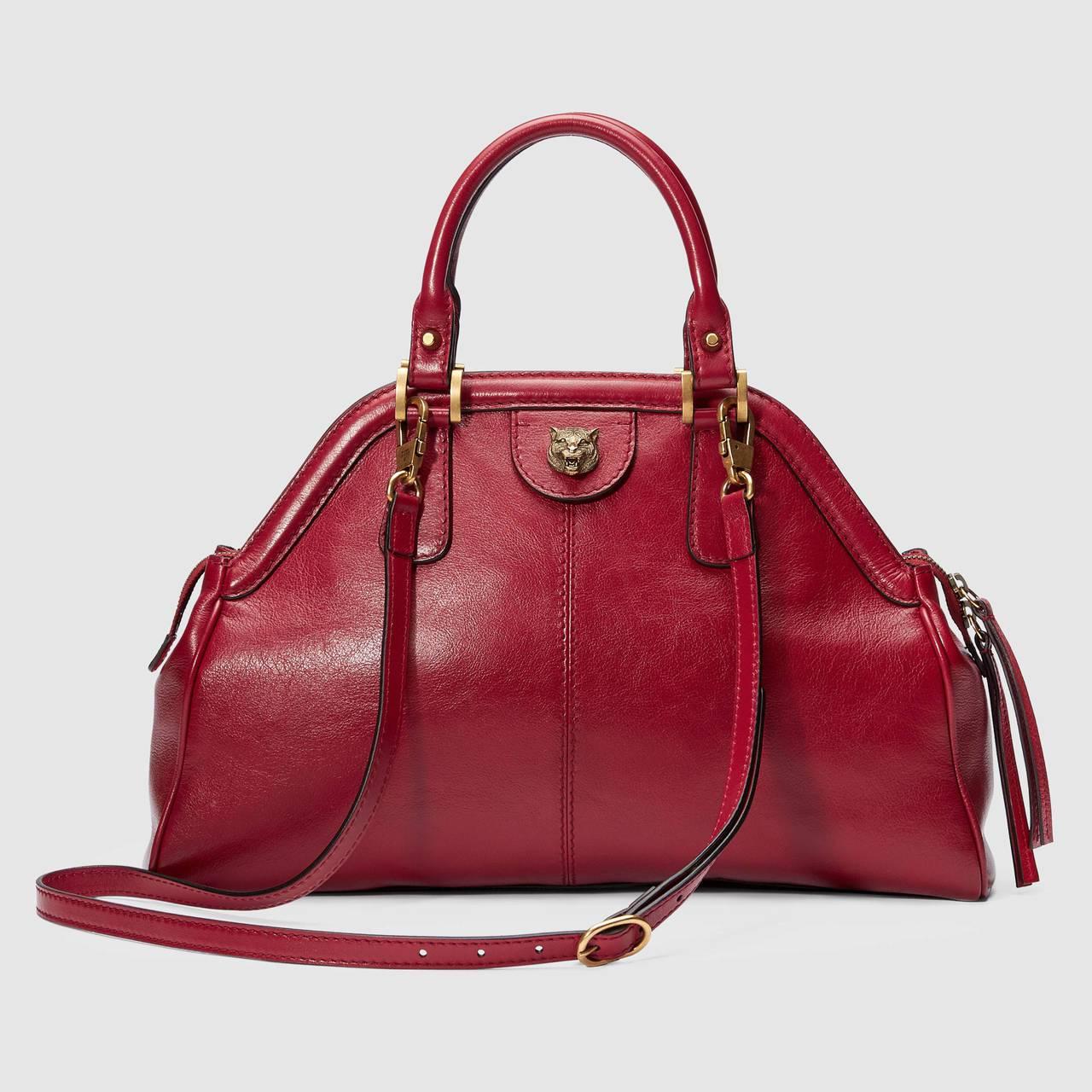 RE(BELLE) 復古刷色手提肩背包,93,600元。圖/Gucci提供
