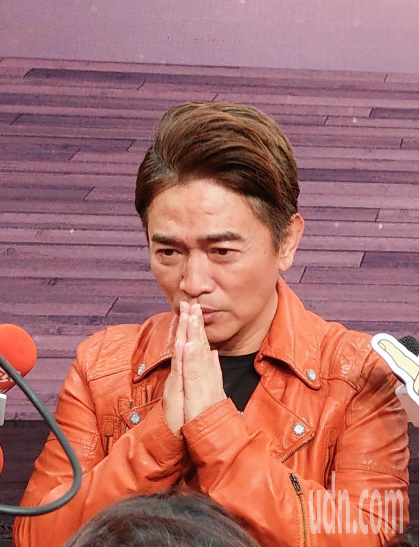 選秀節目《我要當女一》下午錄影,主持人吳宗憲感謝大家對演唱會的支持。記者鄭超文/...