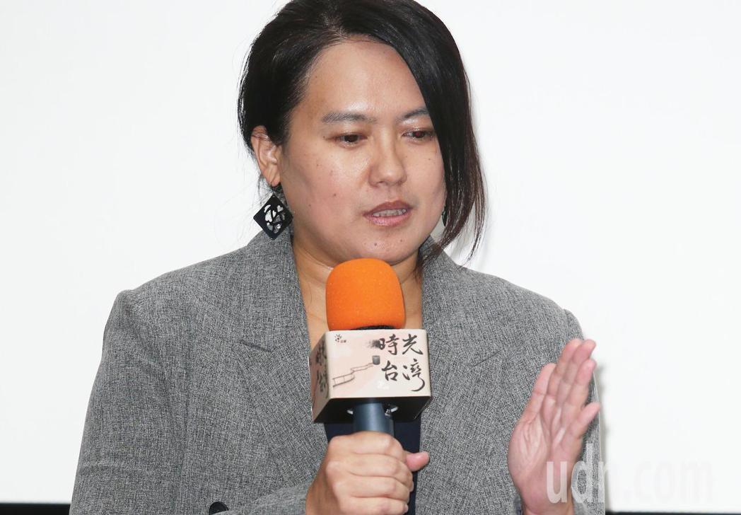 「時光台灣」紀錄短片首映會,導演陳潔瑤出席。記者陳正興/攝影