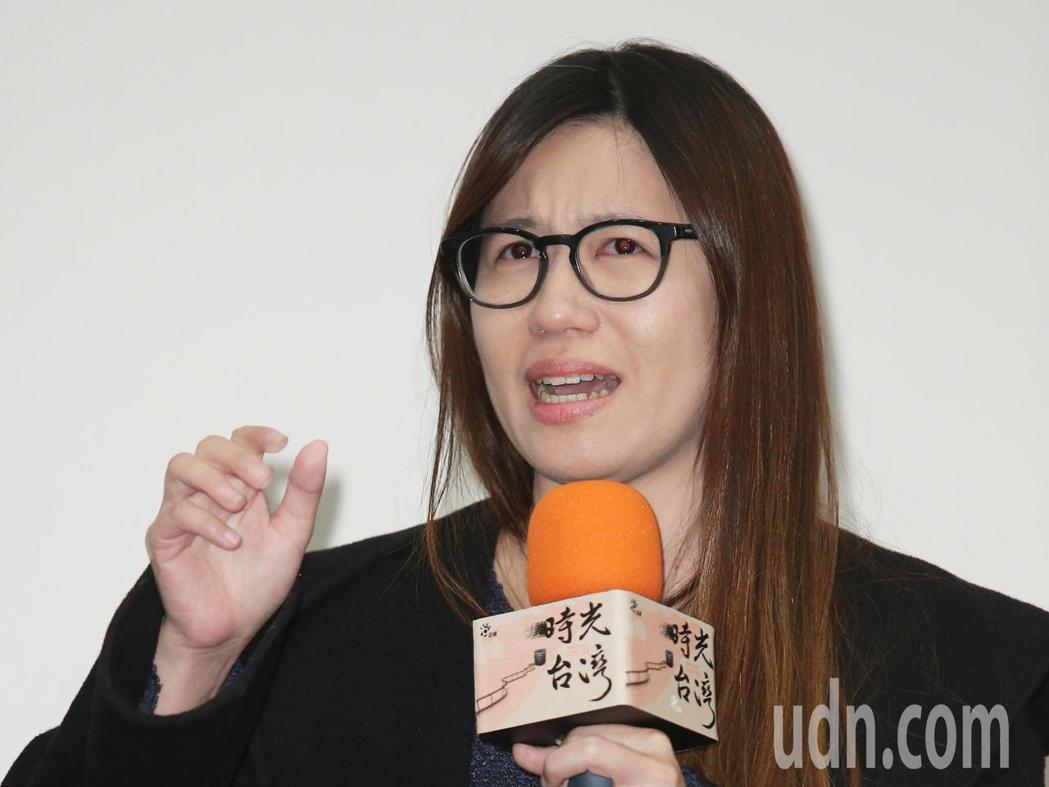 「時光台灣」紀錄短片首映會,導演傅榆出席。記者陳正興/攝影
