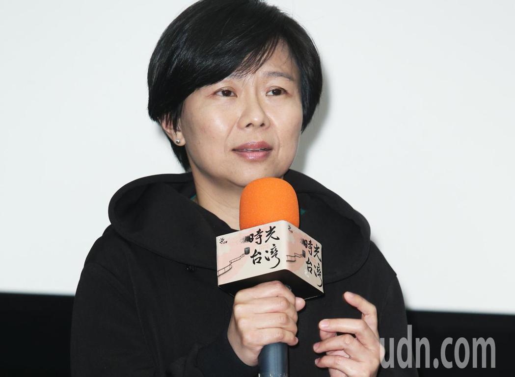 「時光台灣」紀錄短片首映會,導演姜秀瓊出席。記者陳正興/攝影