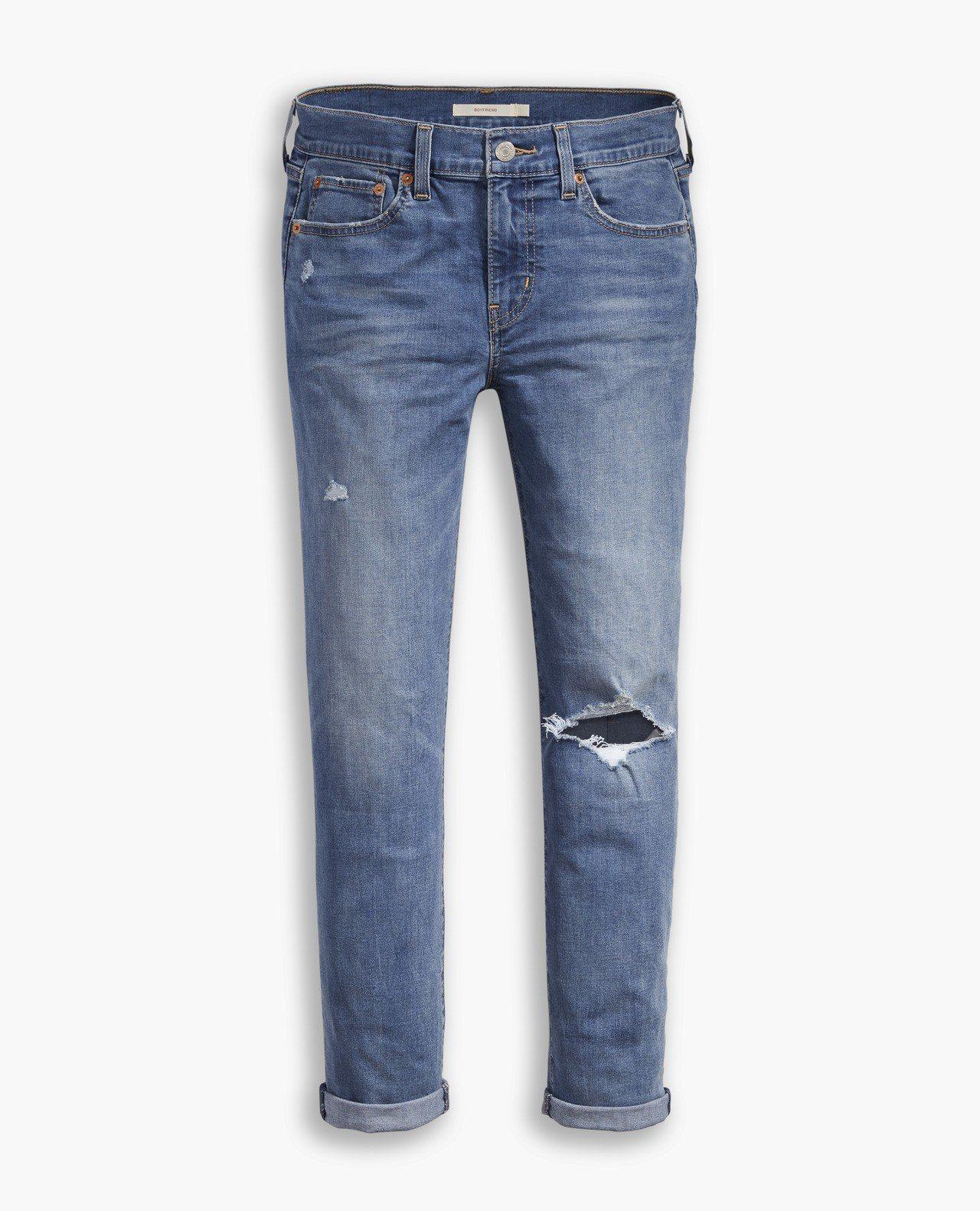 Cool Jeans系列Boyfriend女款窄管七分褲,約3,990元。圖/L...