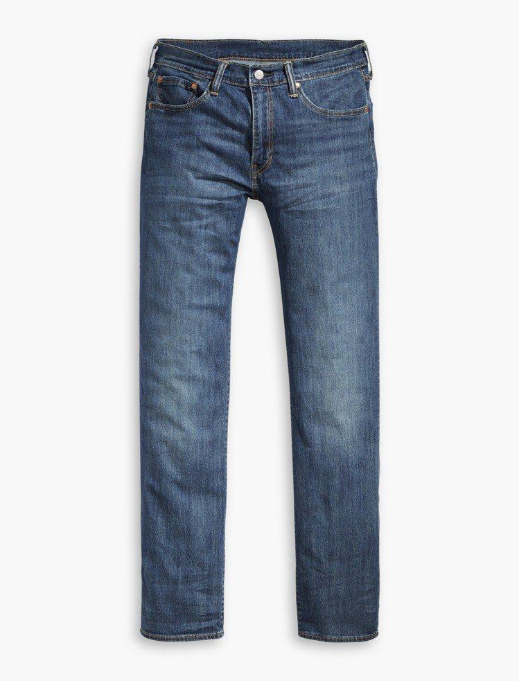 Cool Jeans系列514經典直筒輕磅牛仔褲,約3,990元。圖/Levi'...