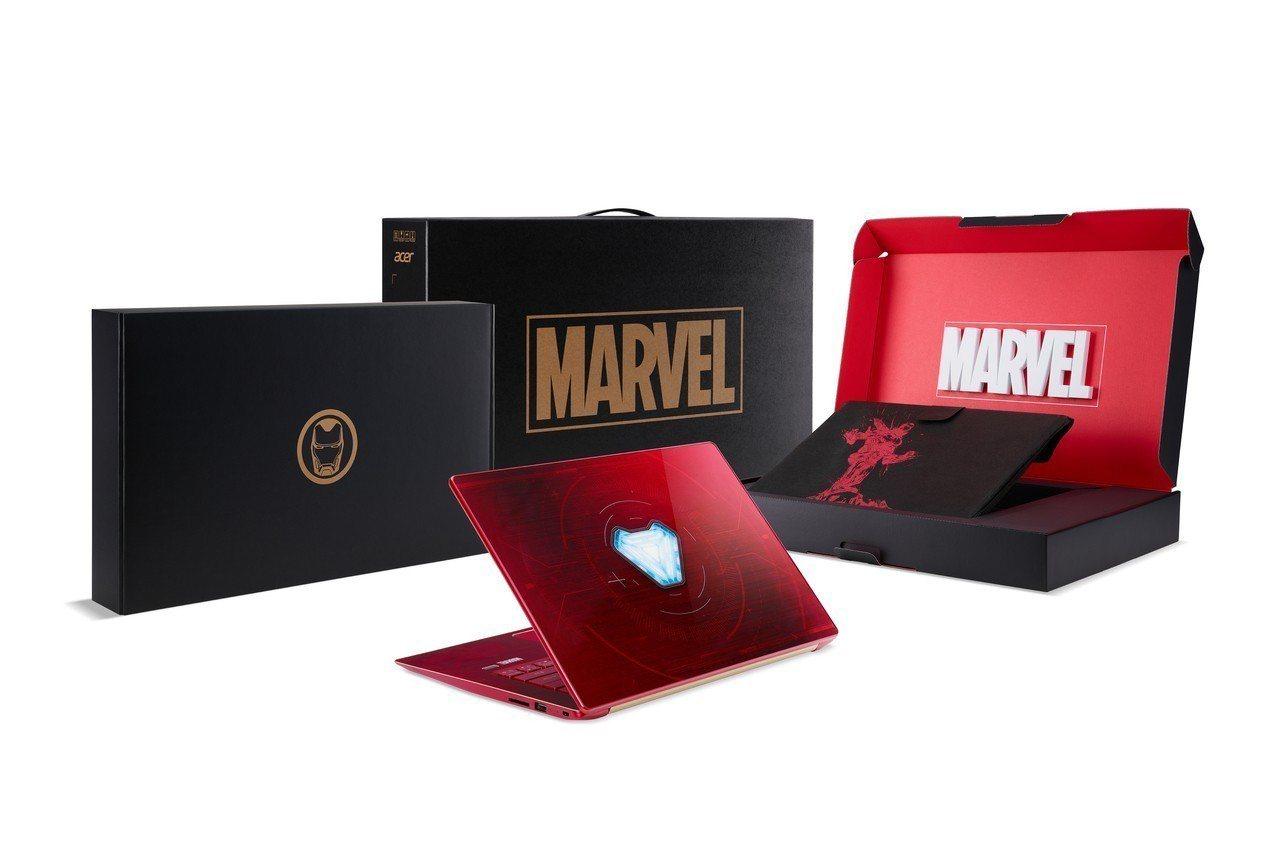 各款聯名筆電皆有專屬外盒設計,並附上特製筆電保護套。圖/宏碁提供