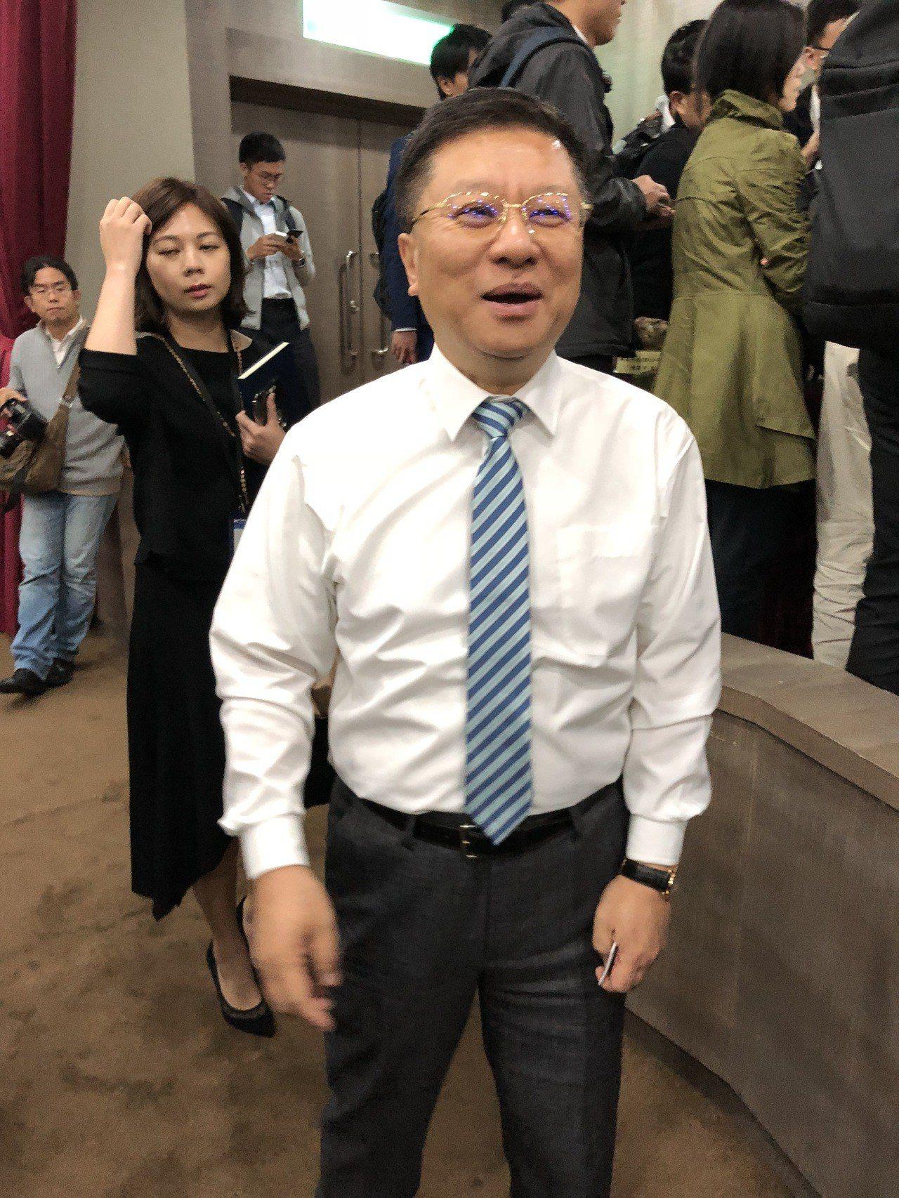 樺漢董事長朱復銓。記者蕭君暉/攝影