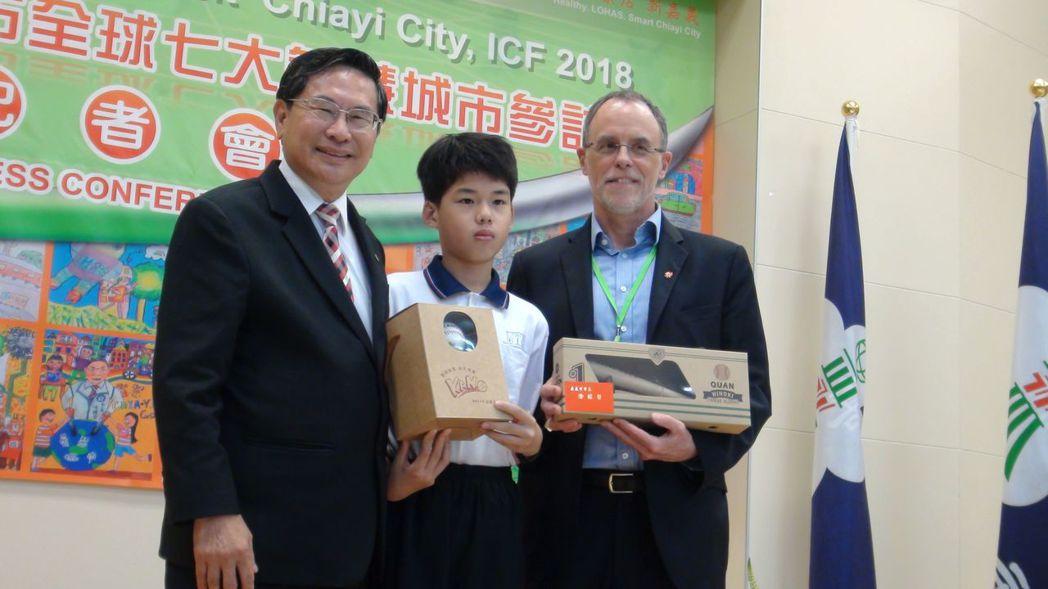 嘉義市再度獲選國際智慧城市論壇(ICF)全球智慧城市TOP 7,ICF共同創辦人...