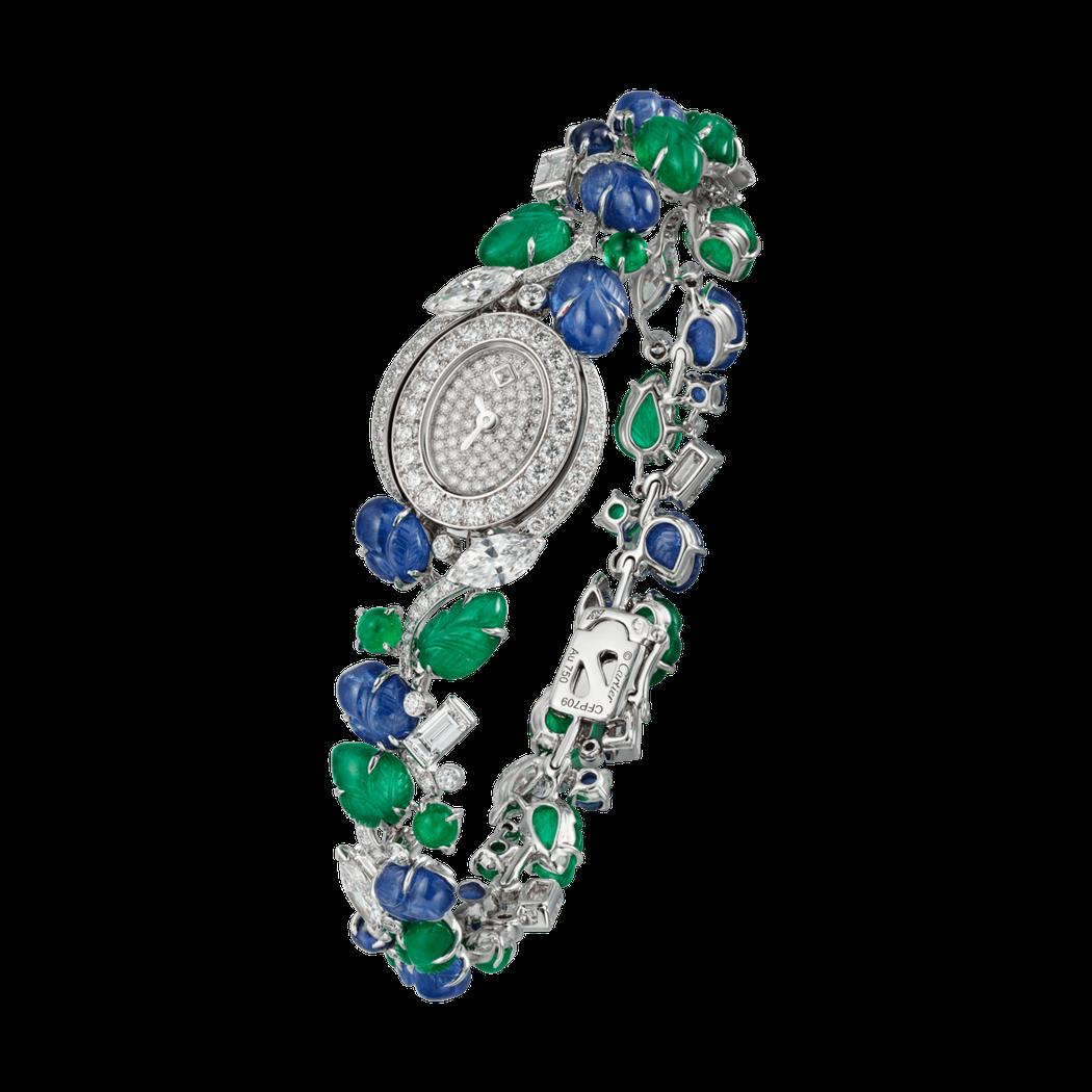 Mini Tutti Émeraude & Saphir 頂級珠寶腕表,2,0...