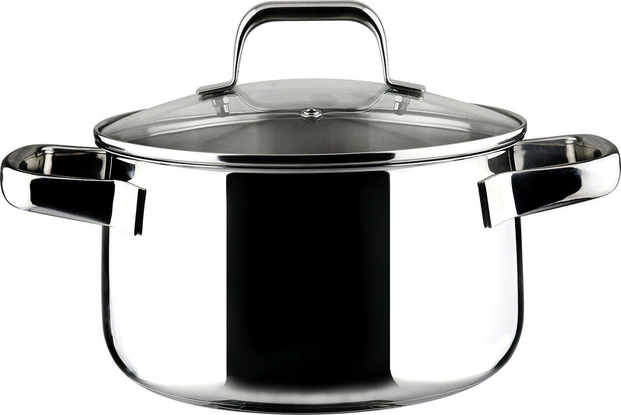 LOTUS樂德鍋倍麗鮮味鍋24cm,附玻璃蓋,建議售價2,860元。圖/旺代提供