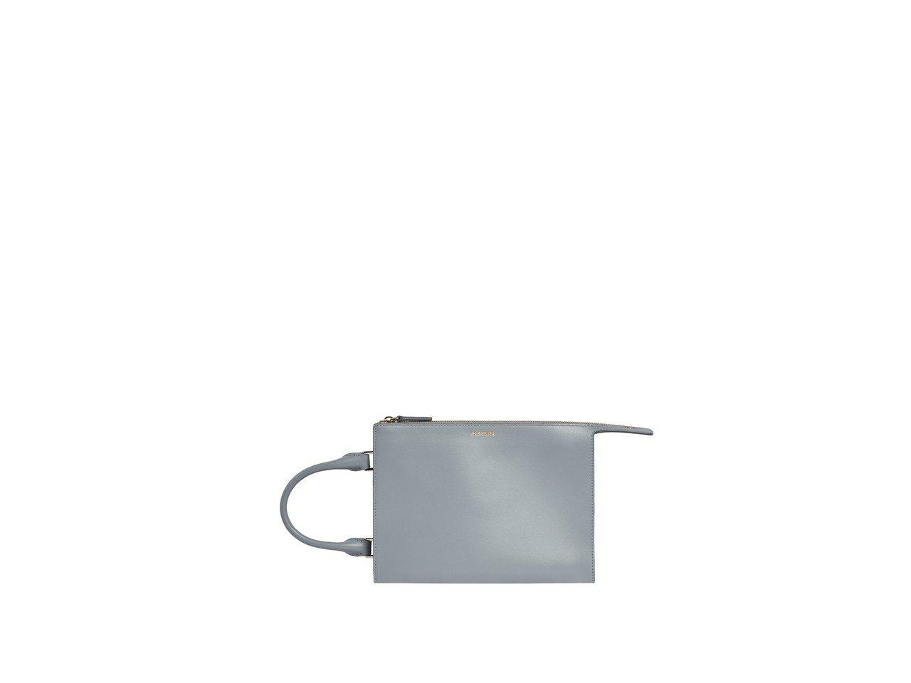 JIL SANDER手拿包,黑/白/灰色款,各售42,980元。圖/ART HA...
