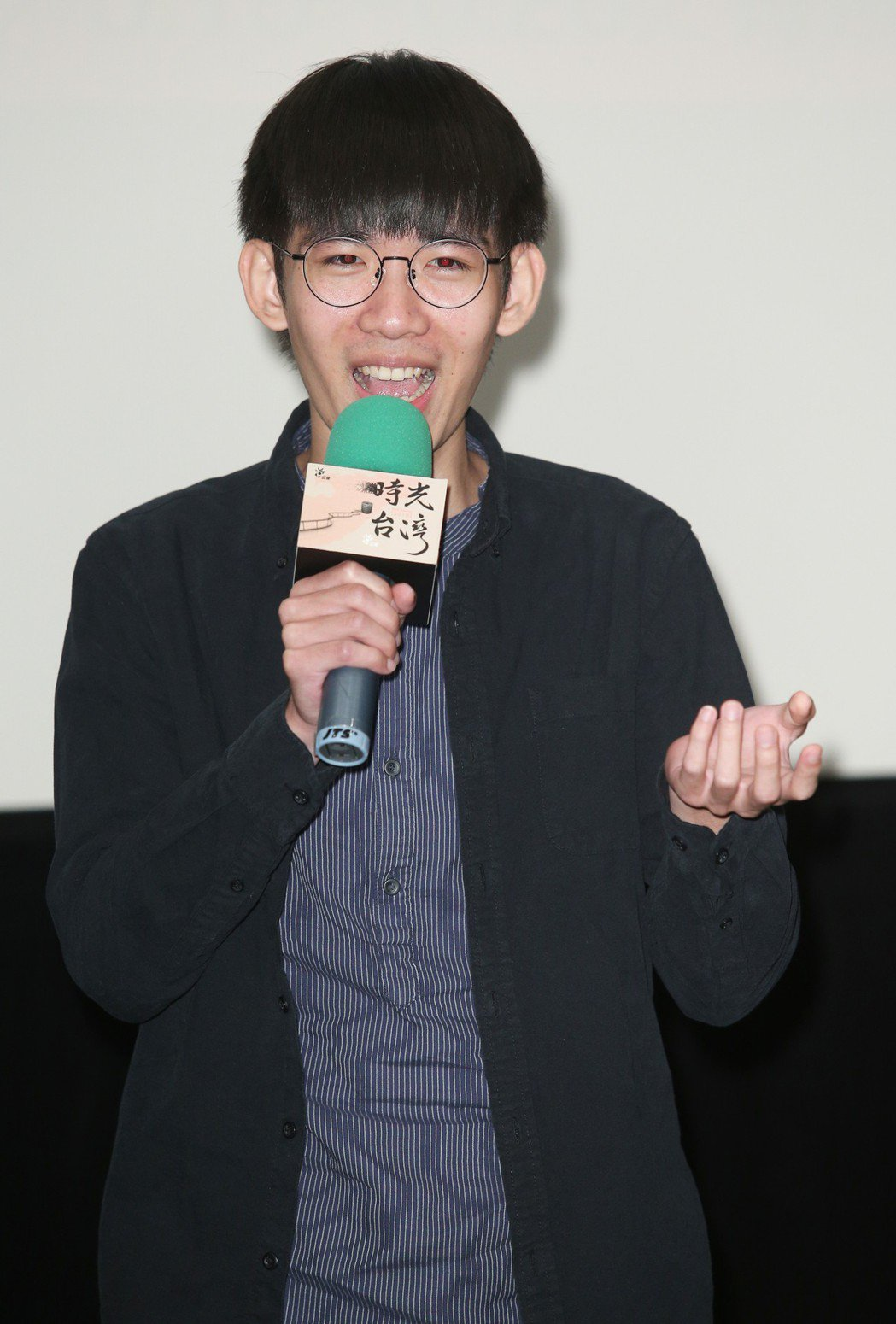 「時光台灣」紀錄短片首映會,導演吳端盛出席。記者陳正興/攝影