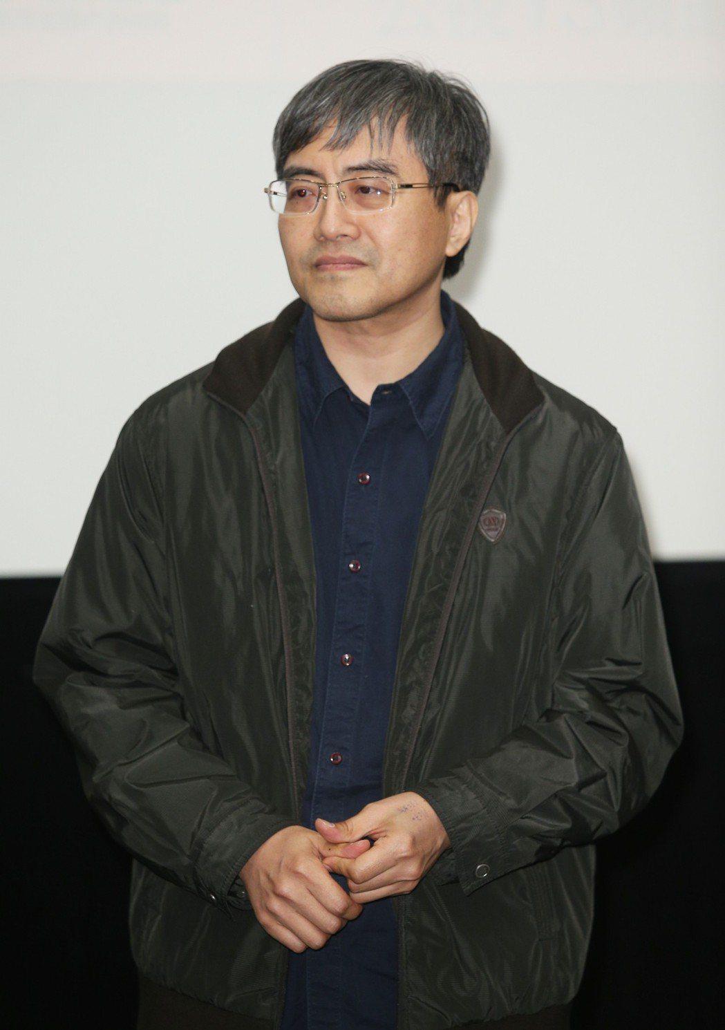 「時光台灣」紀錄短片首映會,導演林泰州出席。記者陳正興/攝影