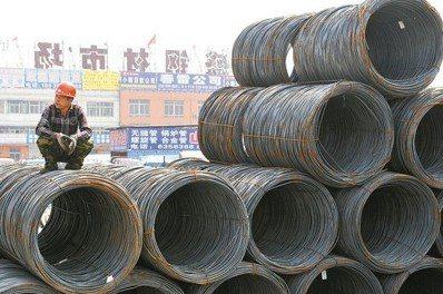 我對中國大陸開出第一槍,將對五項鋼品啟動「雙反」調查。中新社資料照片