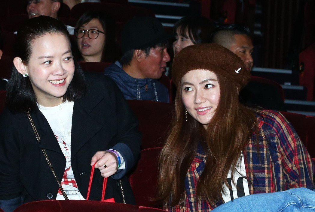 Selina出席馬毓芬的《愛的旅程》音樂會。 記者徐兆玄/攝影