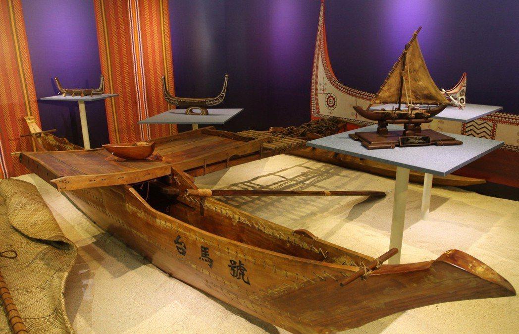 2010年,馬紹爾總統諾特送給陳水扁的一艘木船,兩人共同命名為「台馬號」。 圖/...
