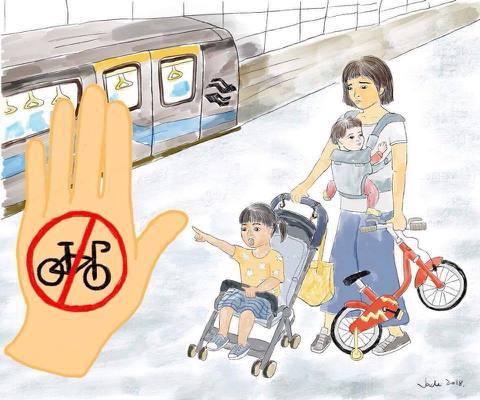 開放兒童腳踏車上公車捷運,是真開放還是假友善?