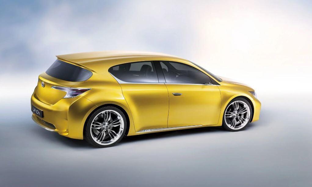 2009 Lexus LF-Ch Concept(CT200h當年的概念車)。 摘自Lexus
