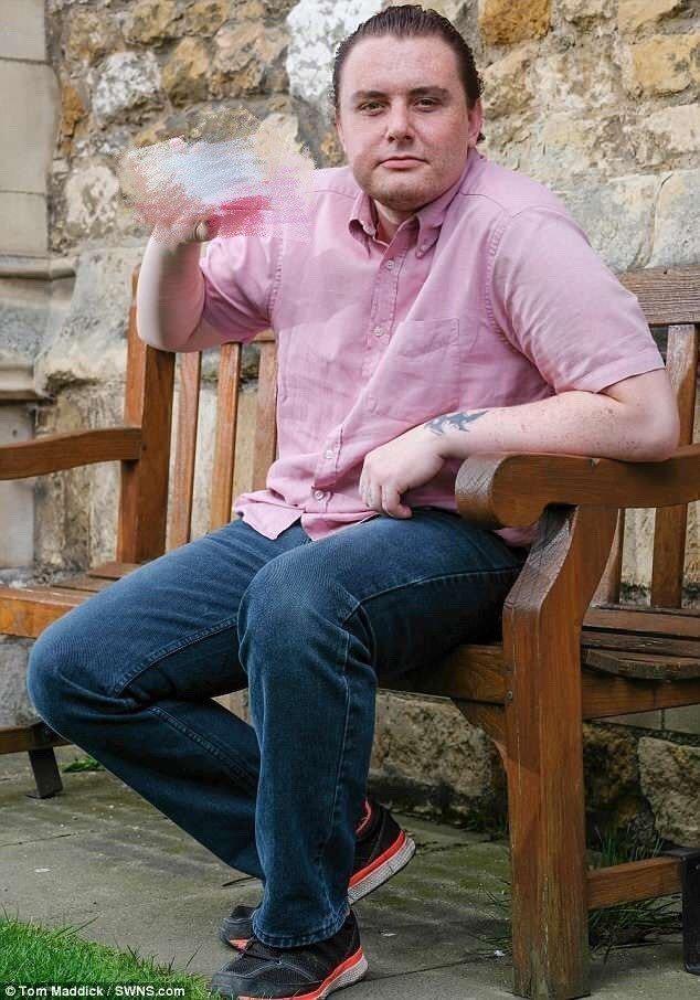普爾迪表示自己服用止痛藥後變成同性戀。圖/取自《每日郵報》