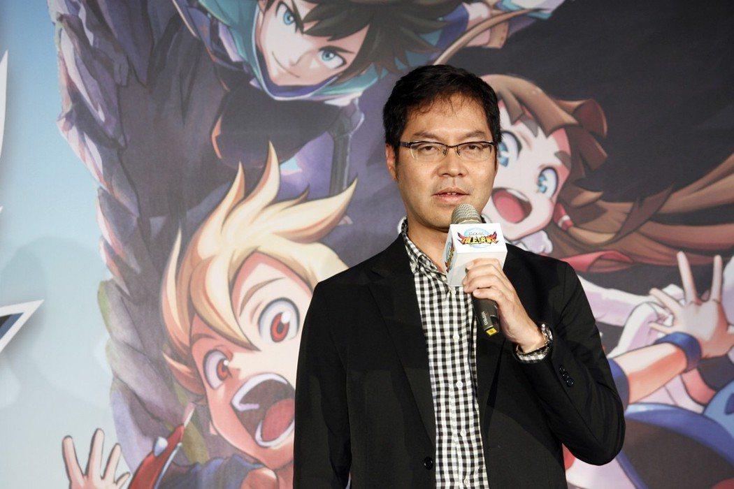 台灣So-net董事長-永田博丈。 何思瑤/攝影