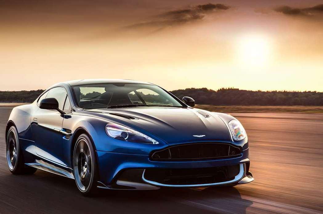 現行Vanquish超級跑車。 摘自Aston Martin