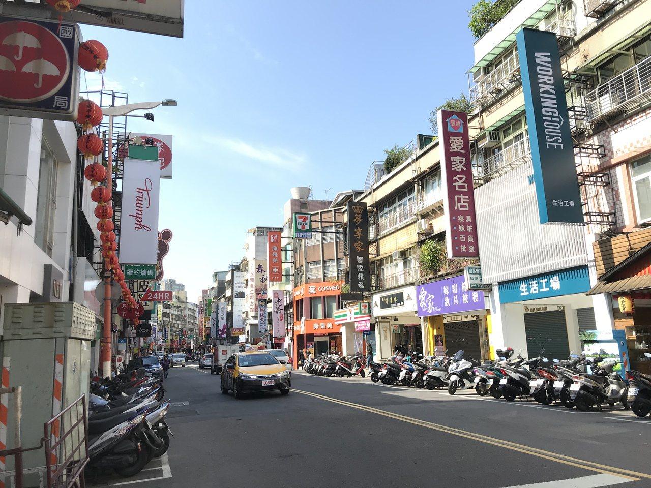 通化商圈。記者游智文/攝影