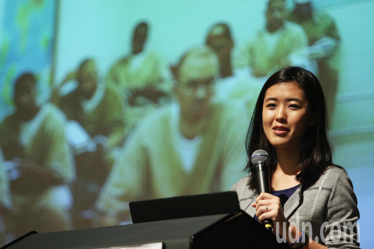「為台灣而教」基金會創辦人劉安婷。記者陳正興/攝影