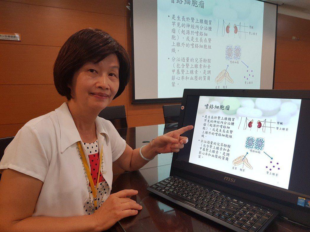 成大醫院病理部副主任謝淑珠 記者修瑞瑩/攝影