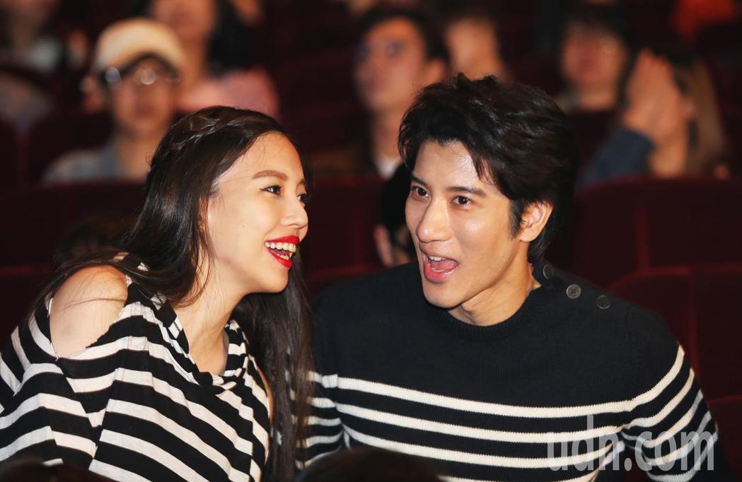 王力宏與老婆現身馬毓芬的《愛的旅程》音樂會。記者徐兆玄/攝影