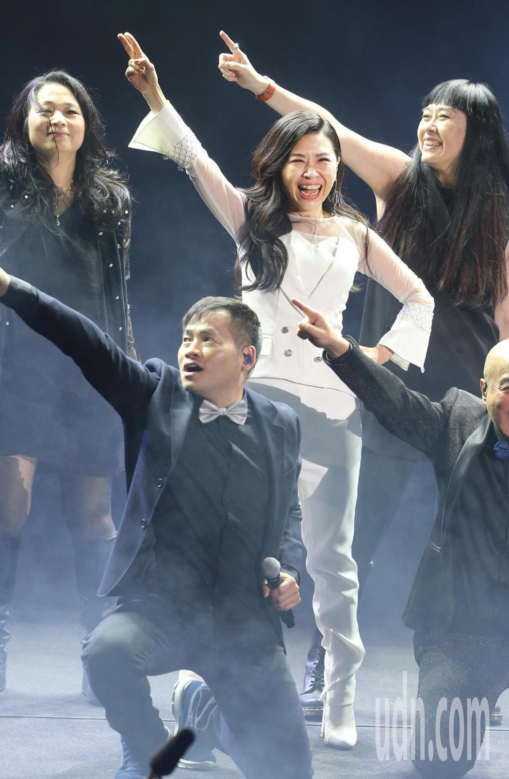 馬毓芬今天晚上在台北國際會議中心舉辦《愛的旅程》音樂會 。記者徐兆玄/攝影
