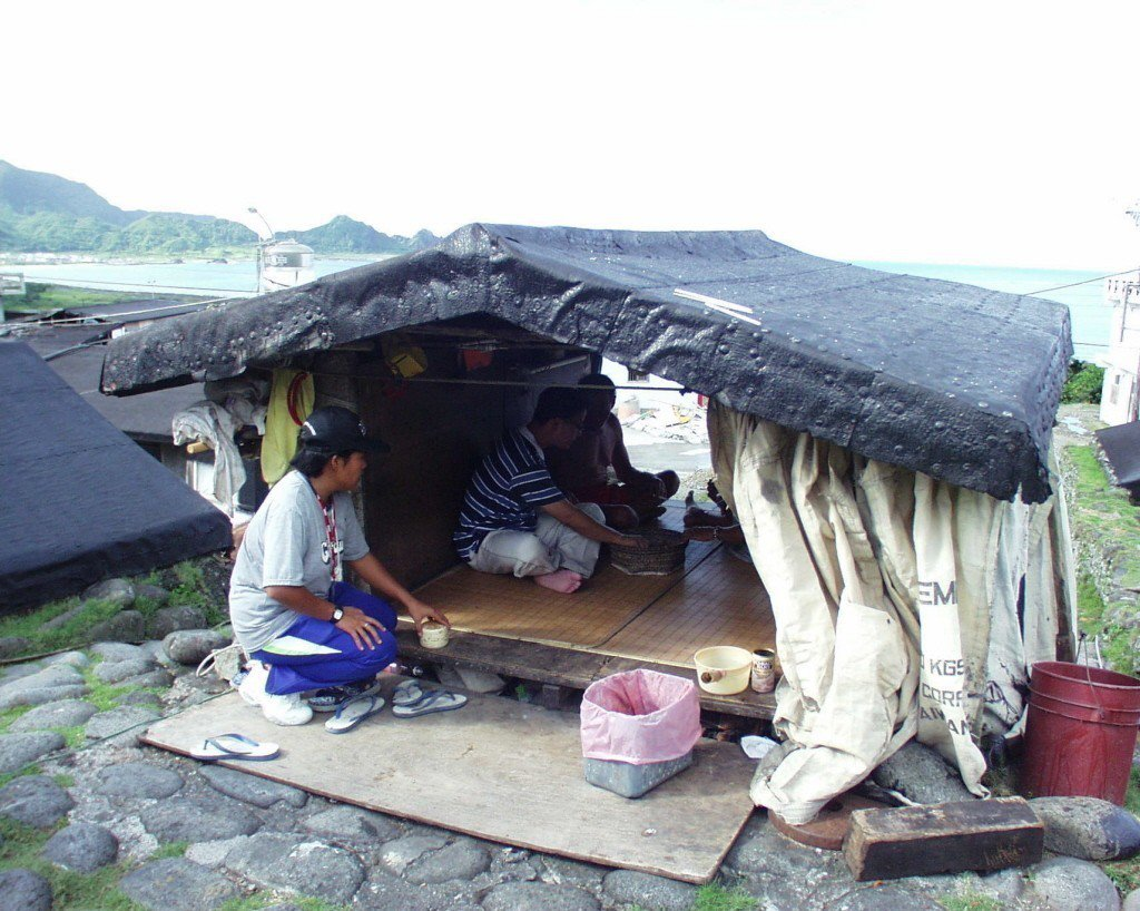 原住民獨有的半穴居建築。 圖/聯合報系資料照片