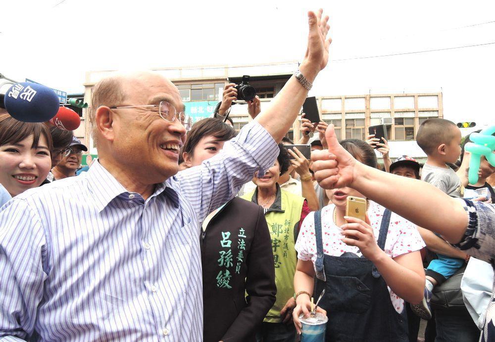 蘇貞昌。圖/聯合報系資料照片