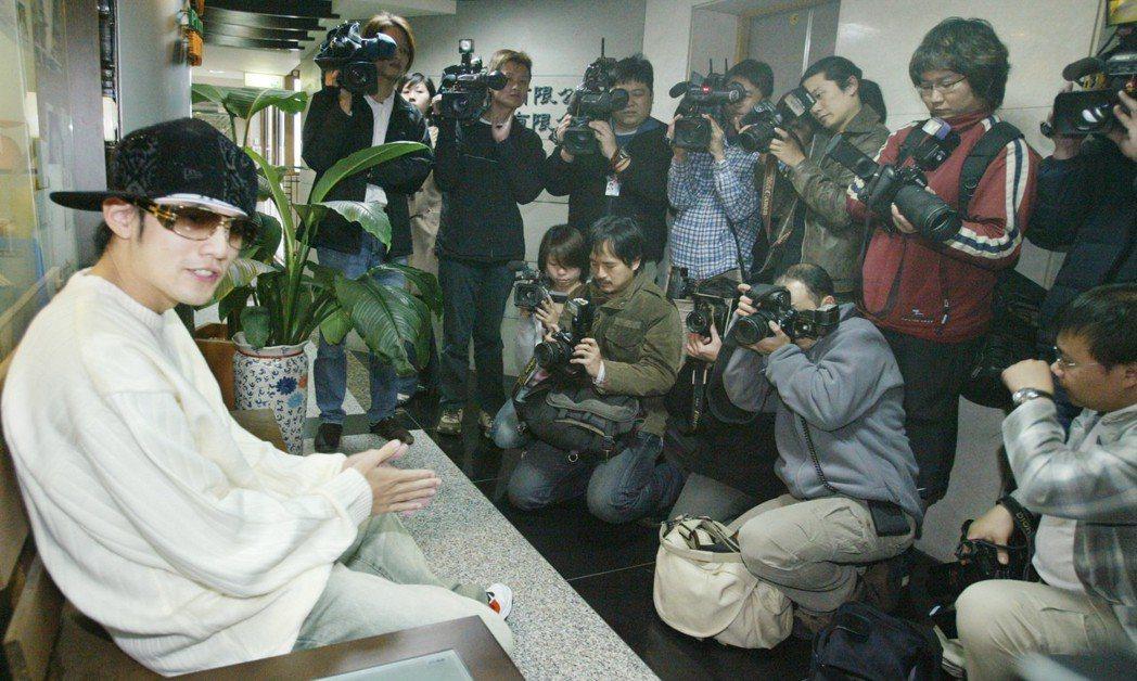 歌手周杰倫曾因狗仔隊跟拍感到不悅。 圖/聯合報系資料照片