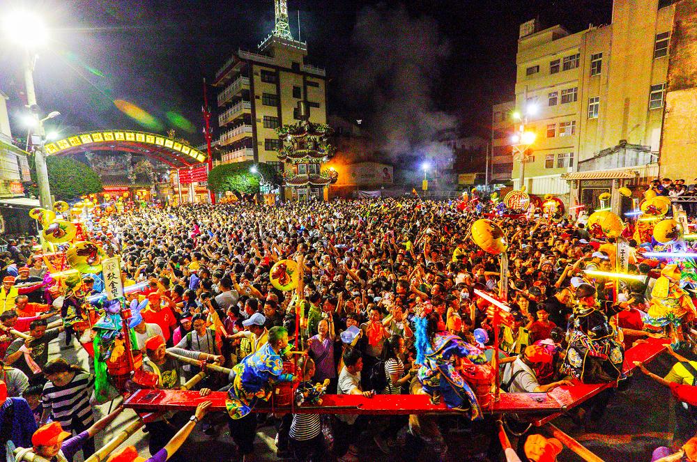 台南六大景點祭典。圖/網路溫度計提供