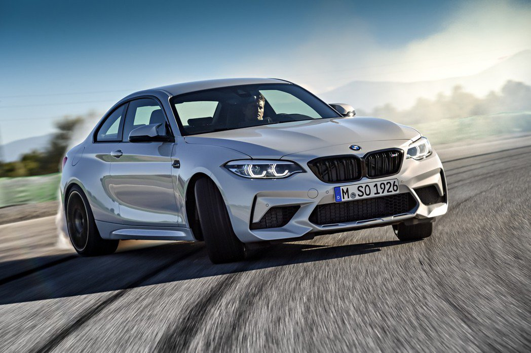 全新BMW M2 Competition最大馬力提升至410hp。 摘自BMW