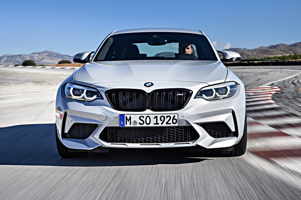 全新BMW M2 Competition。 摘自BMW
