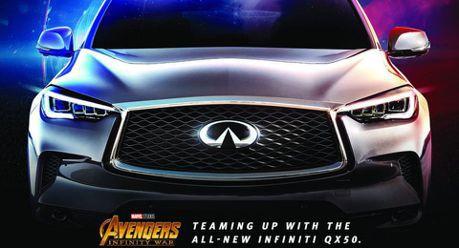 (影音預告)我也是超級英雄!INFINITI QX50加入復仇者陣營