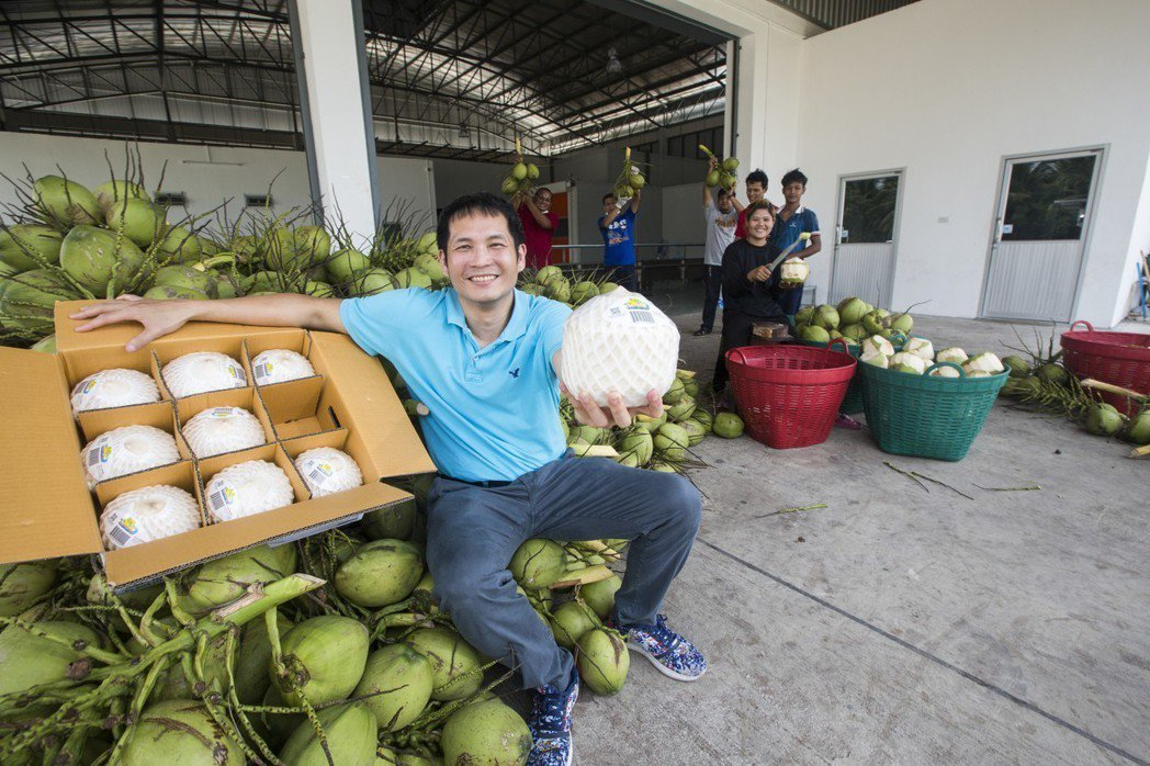 讓阿里巴巴主動談合作 他用台灣技術+泰國水果大賺中國財