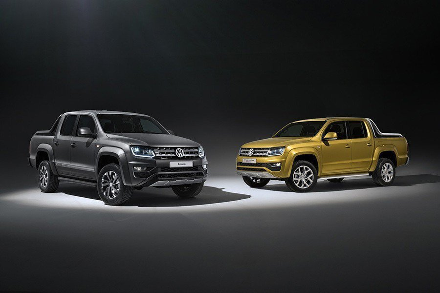 Amarok Dark Label與Aventura Exclusive Concept概念車