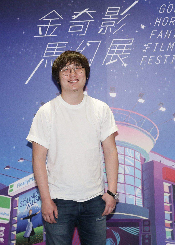 「鏡像人・明日青春」導演張林子出席金馬奇幻影展。圖/華映提供