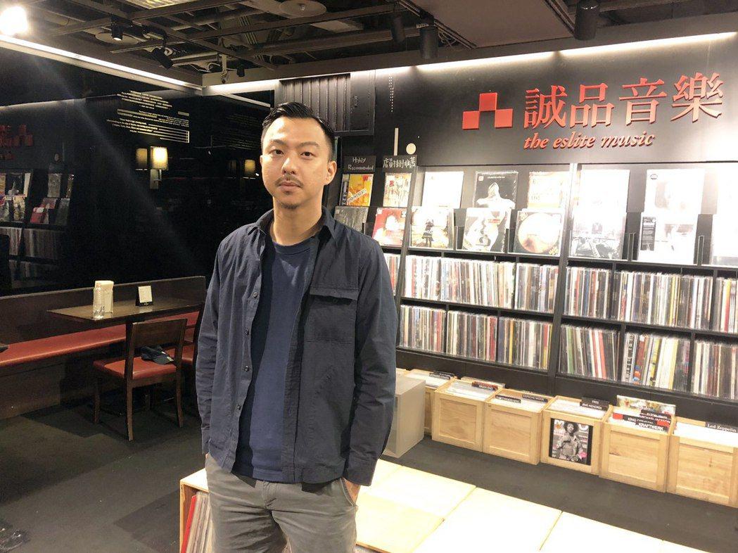 賴慈泓日前在誠品書店演出。圖/混血兒娛樂提供