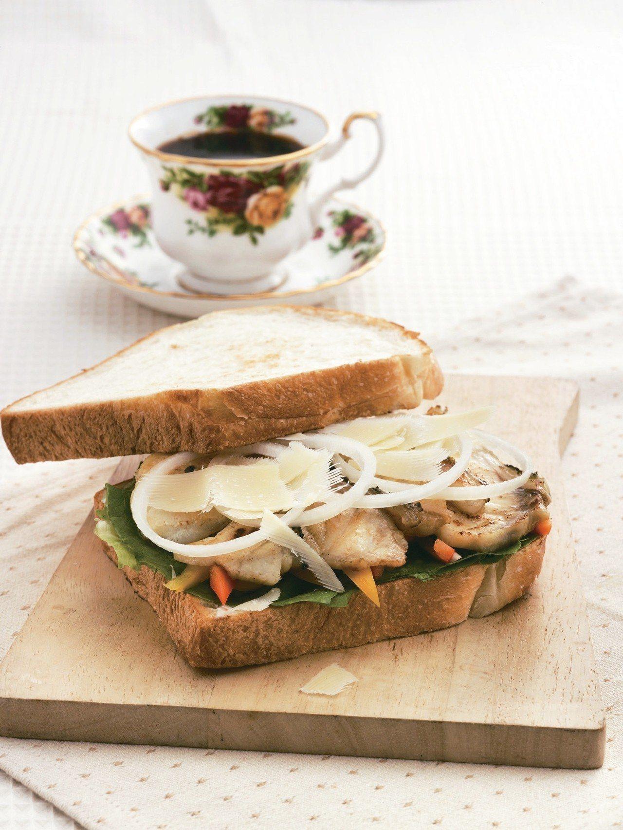 味噌烤魚三明治 圖/天和鮮物提供