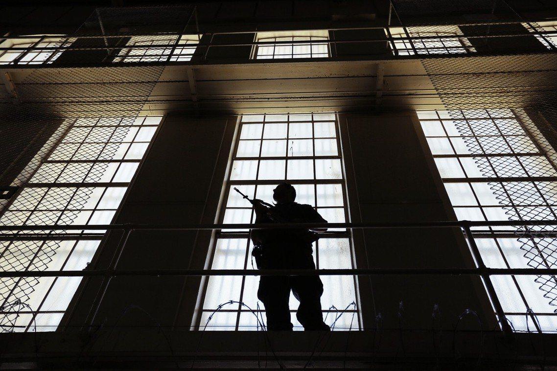 死囚監獄。 圖/美聯社