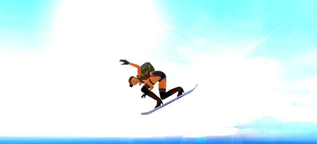 滑板降落讓玩家能在跳傘階段有更多戰術運用,拔得頭籌搶得先機。