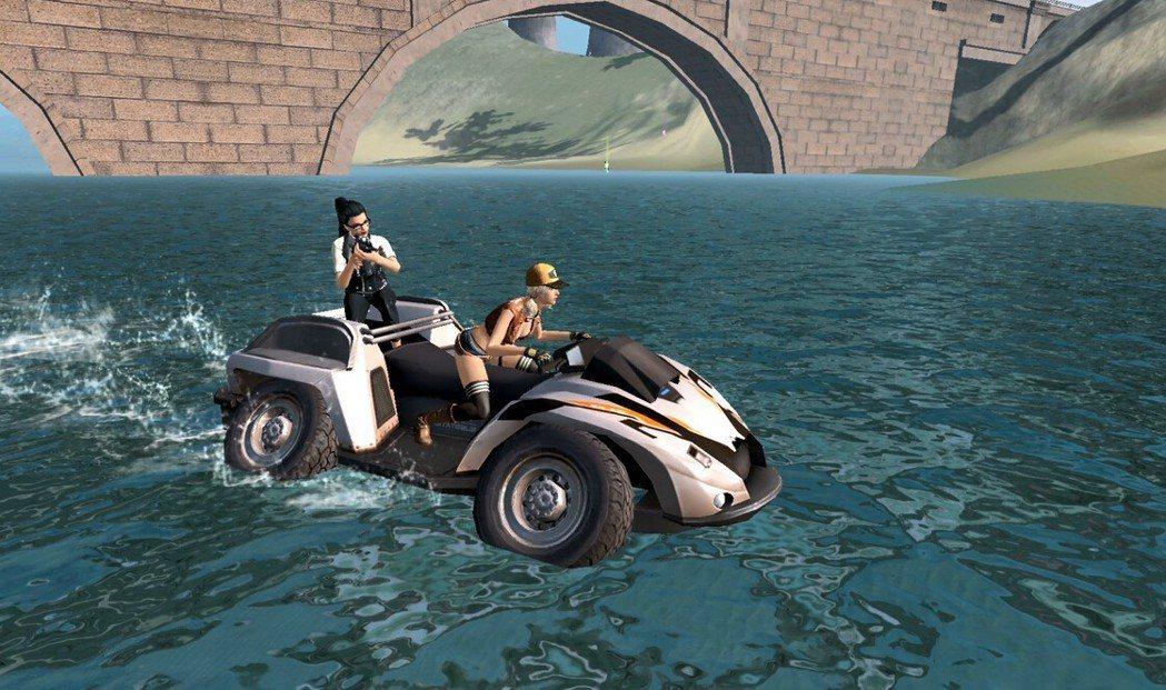 水陸兩用車將帶著玩家上山下海,全力求生!