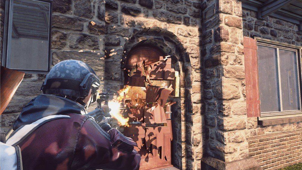 遊戲中的射擊、爆炸、載具撞擊等戰鬥方式,能夠動態地改變戰鬥環境。